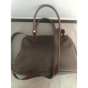 Relic Bags - Relic Small Brown Leather Crossbody w/handles